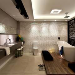 Baños de estilo ecléctico por ArchDesign STUDIO