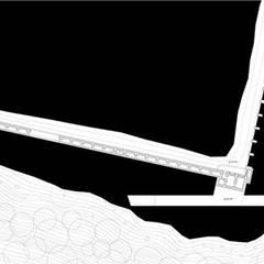 Plan niveau -1: Palais des congrès de style  par Wen Qian ZHU Architecture