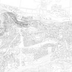 Plan de masse: Palais des congrès de style  par Wen Qian ZHU Architecture