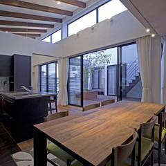 ห้องทานข้าว โดย 株式会社 入船設計, ผสมผสาน