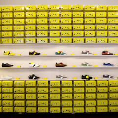 Botas shoes showroom:  Conference Centres by studio deFORM