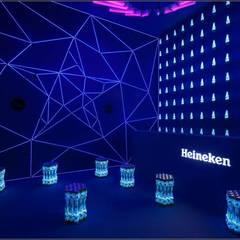 Bar for Heineken:  Exhibition centres by studio deFORM