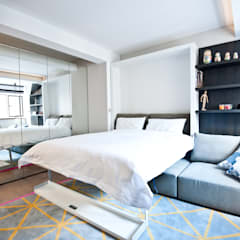 City Pied a Terre:  Bedroom by Black and Milk | Interior Design | London