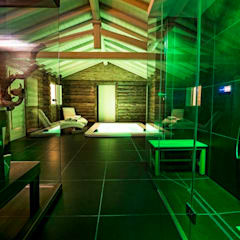 Abitazione Privata: Spa in stile  di Studio Magenis Professionisti Associati