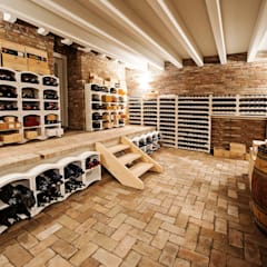 Wine cellar by Studio Tecnico Magenis Professionisti Associati