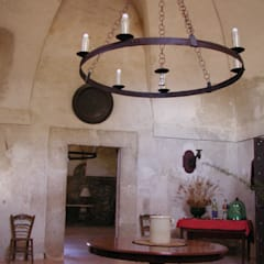 Salones de estilo  de Architetto Giuseppe Prato, Rural