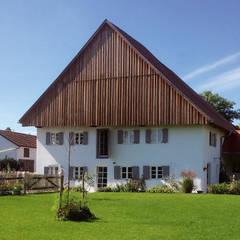Fassade gartenseitig nach Sanierung:  Häuser von heidenreich architektur