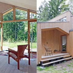 Home In The Woods:  Houses by Facit Homes
