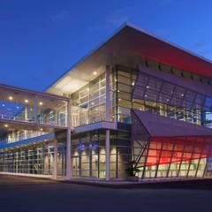 Secondo Terminal Crociere - Palacrociere | Savona: Aeroporti in stile  di Studio Vicini Architetti