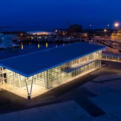Аэропорты и морские порты в . Автор – Studio Vicini Architetti