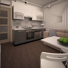 Salas / recibidores de estilo  por Alfia Ilkiv Interior Designer