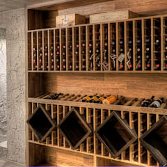 Wine cellar by Olaa Arquitetos, Country