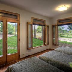 غرفة نوم تنفيذ Olaa Arquitetos