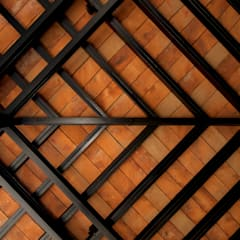 Detalle de techo:  Terrace by Forma Taller