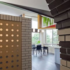 ห้องเก็บไวน์ โดย 有限会社加々美明建築設計室, ผสมผสาน