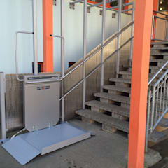 Plattformlift (Gerade):  Schulen von Wachsmann Lift-Technik