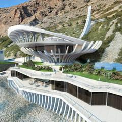 Манта на берегу средиземного моря: Дома в . Автор – Архитектурное бюро и дизайн студия 'Линия 8'