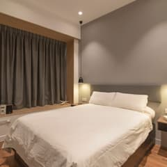 D'Leedon:  Bedroom by Eightytwo Pte Ltd,Minimalist