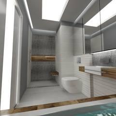 Baños de estilo  por WW Studio Architektoniczne , Escandinavo