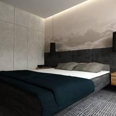 Cuartos de estilo  por WW Studio Architektoniczne , Escandinavo