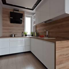 Kitchen by ap. studio architektoniczne Aurelia Palczewska-Dreszler