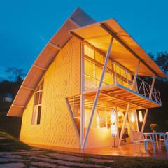 Casa Eugênia por Joao Diniz Arquitetura: Casas  por JOAO DINIZ ARQUITETURA