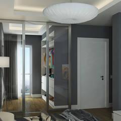 Çağrı Aytaş İç Mimarlık İnşaat – UYSAL RESIDENCE:  tarz Giyinme Odası