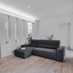 Living room by SANSON ARCHITETTI