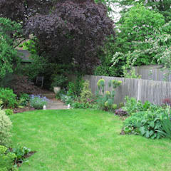 lawn and borders:  Garden by Fenton Roberts Garden Design