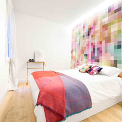 Vivienda en Sant Joan. Barcelona : Dormitorios de estilo  de Egue y Seta