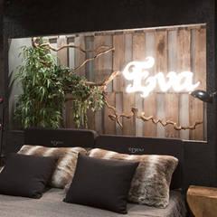 Centros de exhibición de estilo  por Egue y Seta