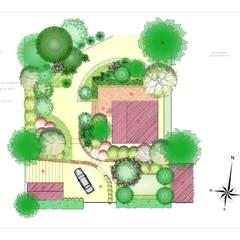 Landscape masterplan.: Сады в . Автор – BersoDesign ❖ Landscape architecture. Design. , Кантри