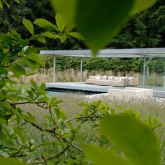 Villatuin Noord Holland:  Tuin door Andrew van Egmond (ontwerp van tuin en landschap)