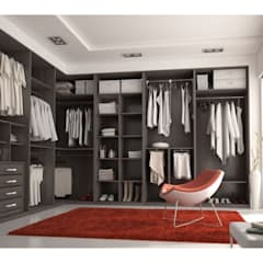 industrial Dressing room by MUEBLES RABANAL SL
