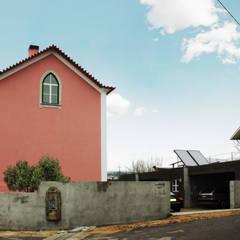 Moradia Castro: Casas  por EVA | evolutionary architecture