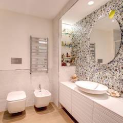 MOB ARCHITECTS Nowoczesna łazienka
