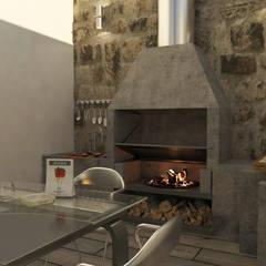 Terrazas de estilo  por arquitecto9.com
