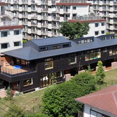 Escuelas de estilo  por ユニップデザイン株式会社 一級建築士事務所