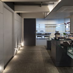 Oficinas de estilo  por MW Arquitetura,