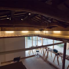 holon: 一級建築士事務所ageha.が手掛けたオフィススペース&店です。,ラスティック