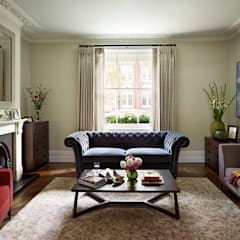Reflected Glory - Holland Park Renovation: classic Living room by Tyler Mandic Ltd