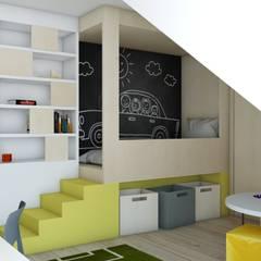 Nursery/kid's room by BAGUA Pracownia Architektury Wnętrz, Scandinavian