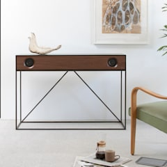 Stereo Console:  Media room by Symbol Audio