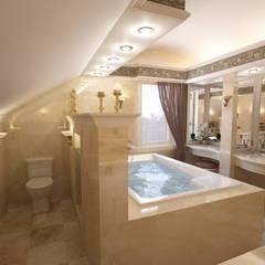 Bathroom by Студия Ксении Седой,