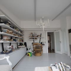 Estudios y despachos de estilo rústico por DerganÇARPAR Mimarlık