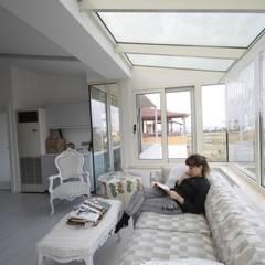 DerganÇARPAR Mimarlık  – AHMET ASLI İLHAN EVİ : minimal tarz tarz Çalışma Odası