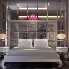 Origami Mobilya – Yatak Odası Tasarımı:  tarz Yatak Odası, Eklektik