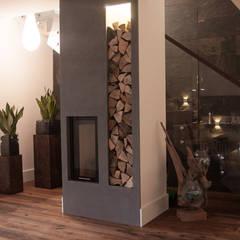 industrial Living room by Ewa Weber - Pracownia Projektowa