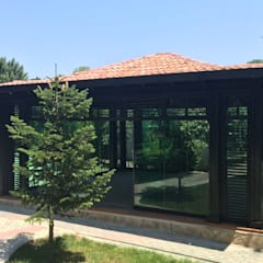 Anexos de estilo  por Tabiat Ahşap Tasarım ve Uygulama San. Tic. Ltd. Şti