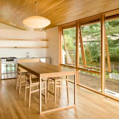 Laurelhurst Carriage House:  Dining room by PATH Architecture